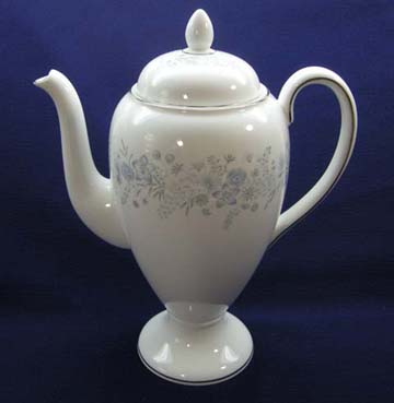 Wedgwood Belle Fleur Coffee Pot & Lid - Large