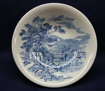 Wedgwood Countryside - Blue Bowl - Cereal/Soup