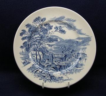 Wedgwood Countryside - Blue Plate - Dessert/Pie