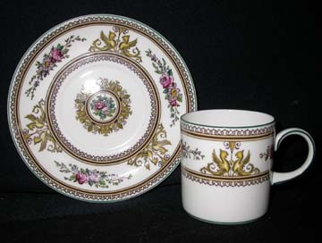 Wedgwood Columbia W595 Cup & Saucer