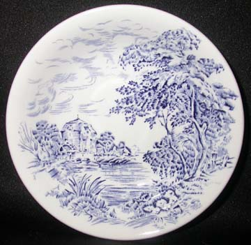 Wedgwood Countryside - Blue Bowl - Fruit Nappie
