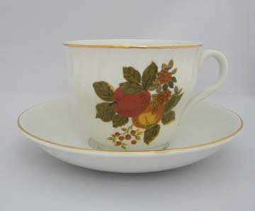 Wedgwood English Harvest Cup & Saucer