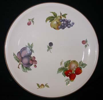 Wedgwood Fruit Sprays Plate - Dinner