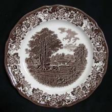 Romantic England - Brown/White