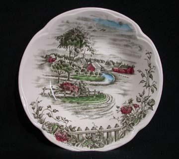 Vintage Johnson Brothers The Road Home Saucer 1 Saucer Only